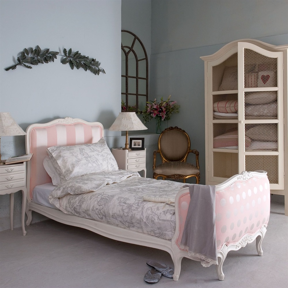 French Lit Corbeille Single Bed