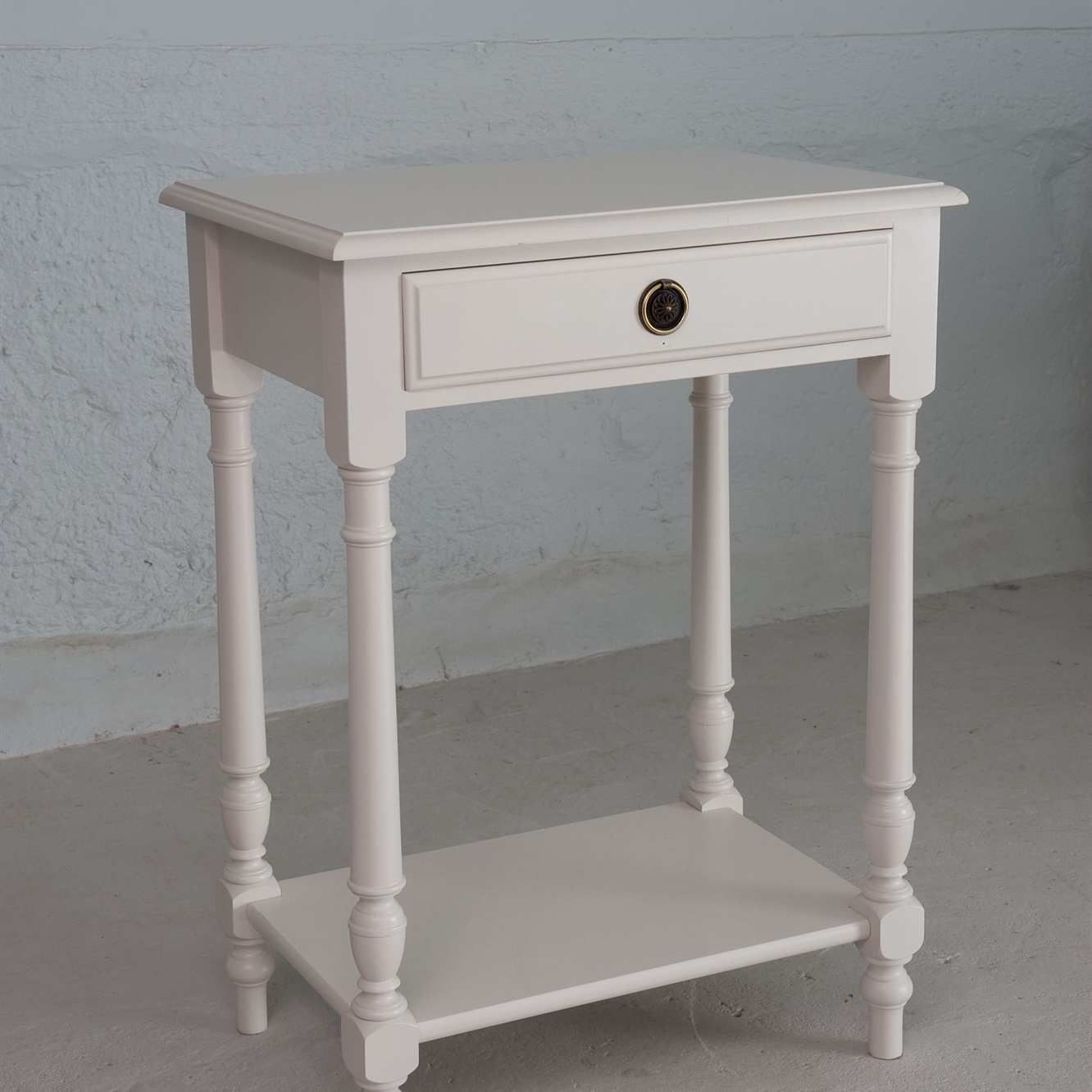 Gustavian Bedside Table